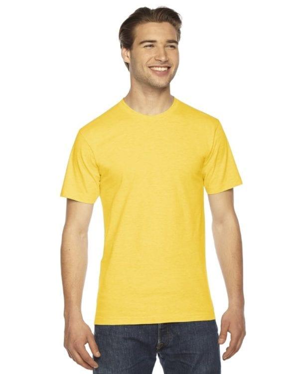custom american apparel 2001w custom jersey short sleeve shirt sunshine