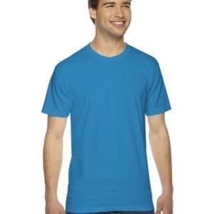 custom american apparel 2001w custom jersey short sleeve shirt teal