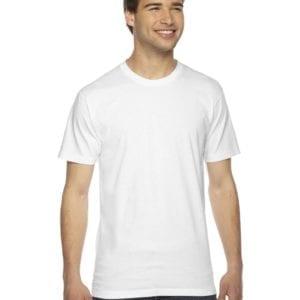 custom american apparel 2001w custom jersey short sleeve shirt white