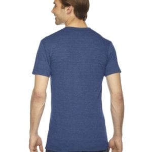 custom american apparel triblend custom shirt tr401w Indigo back