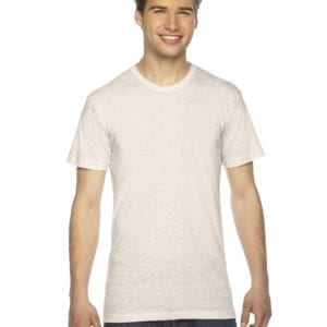 custom american apparel triblend custom shirt tr401w oatmeal