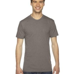 custom american apparel triblend custom shirt tr401w tri coffee