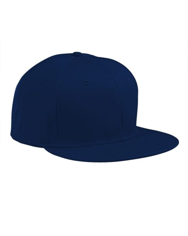 custom hats big accessories ba516 flat bill snapback custom cap navy