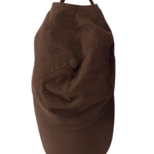 custom hats big accessories bx001 6-panel brushed twill unstructured custom hat coffee