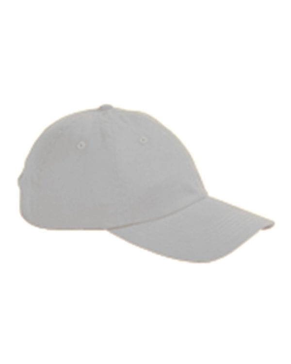 custom hats big accessories bx001 6-panel brushed twill unstructured custom hat light gray