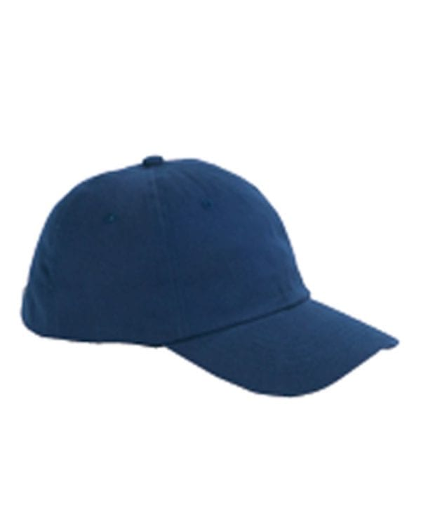 custom hats big accessories bx001 6-panel brushed twill unstructured custom hat navy