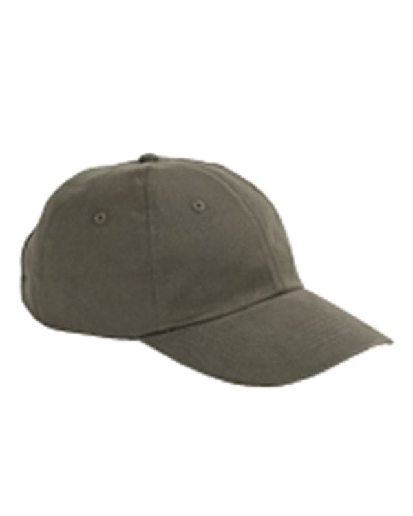 custom hats big accessories bx001 6-panel brushed twill unstructured custom hat olive