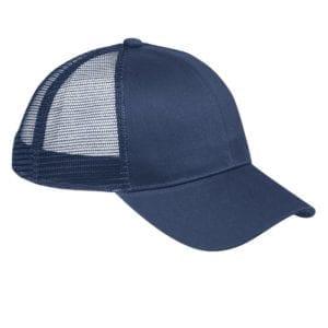 custom hats big accessories bx019 6-panel trucker snapback custom cap navy