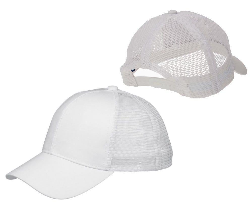 2a33e53e Big Accessories BX019 Trucker Snapback Hat - Bulk Custom Shirts