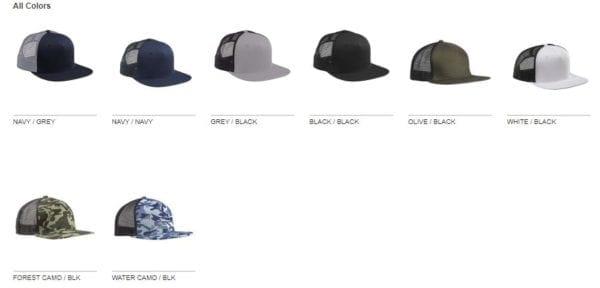 custom hats big accessories bx025 surfer trucker custom cap colors