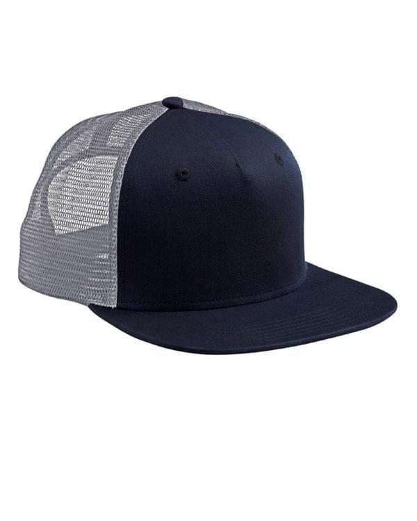 custom hats big accessories bx025 surfer trucker custom cap navy grey