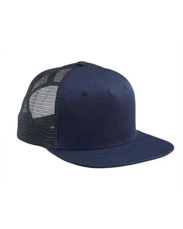 custom hats big accessories bx025 surfer trucker custom cap navy navy