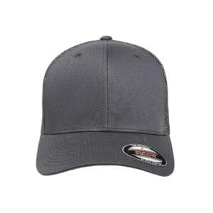 1850d9a799130 custom hats flexfit 6511 6-panel custom trucker hat bulk custom shirts  charcoal