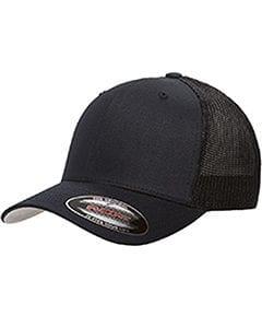 custom hats flexfit 6511 6-panel custom trucker hat bulk custom shirts dark navy