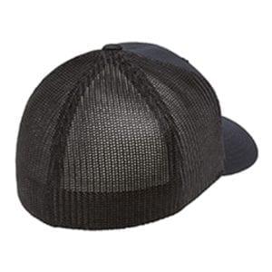 custom hats flexfit 6511 6-panel custom trucker hat bulk custom shirts navy back