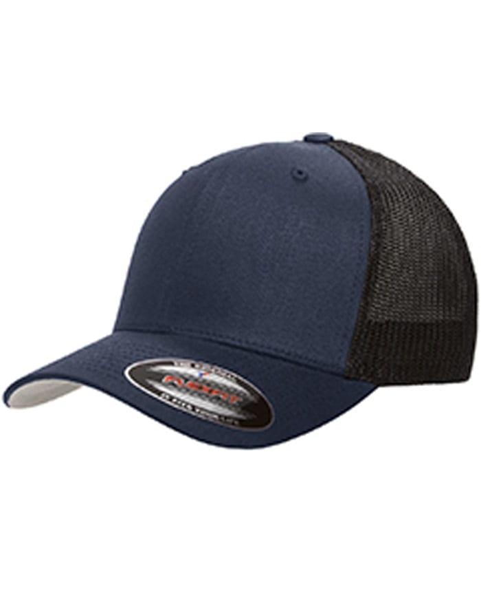 Flexfit 6511 Trucker Cap 6-Panel Adult Hat - Bulk Custom Shirts