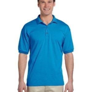 custom polo bulk custom shirts gildan g880 50-50 polo sapphire