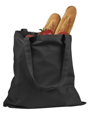 custom shopping bag custom tote bags badedge be007-black