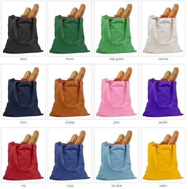 custom shopping bag custom tote bags badedge be007 colors