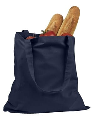 custom shopping bag custom tote bags badedge be007 navy