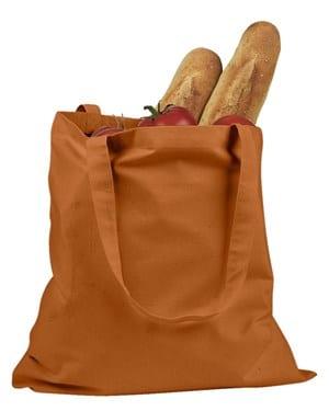 custom shopping bag custom tote bags badedge be007 orange
