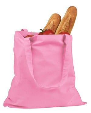 custom shopping bag custom tote bags badedge be007 pink