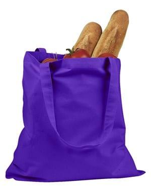 custom shopping bag custom tote bags badedge be007 purple