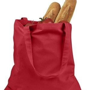 custom shopping bag custom tote bags badedge be007 red