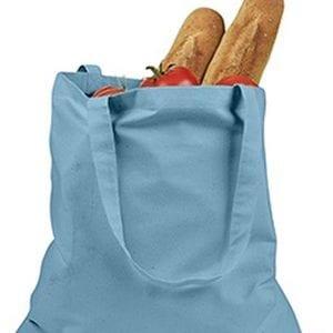 custom shopping bag custom tote bags badedge be007 sky-blue