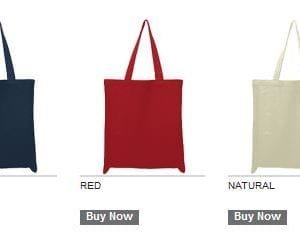 custom shopping bag custom tote bags oad oad113 cotton canvas 12 oz custom tote bag colors