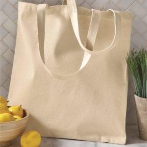 custom shopping bag custom tote bags oad oad113 cotton canvas 12 oz custom tote bag natural
