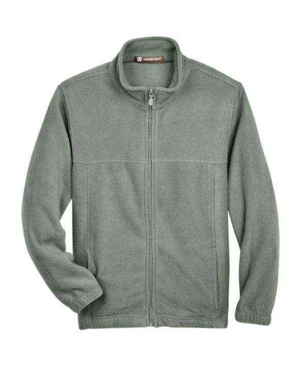 custom youth fleece jackets harrington m990y full zip custom fleece dill
