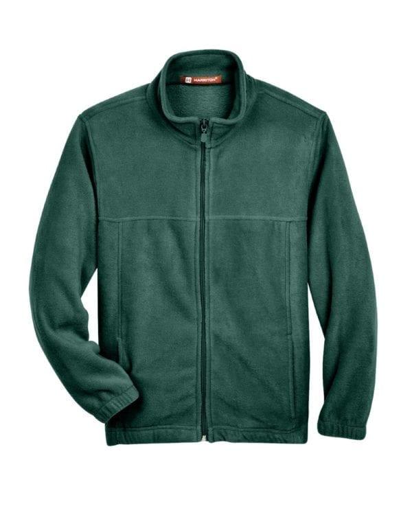 custom youth fleece jackets harrington m990y full zip custom fleece hunter