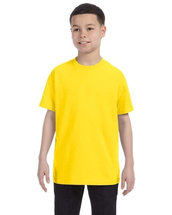 Gildan 500B Heavy Cotton Youth Custom Shirt