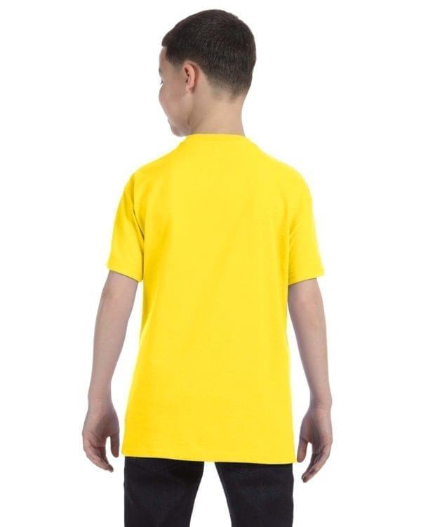 Gildan 500B Heavy Cotton Youth Custom Shirt Back