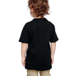gildan g510p custom toddler heavy cotton shirt bulk custom shirts black back