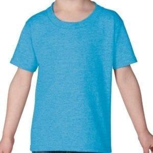 gildan g510p custom toddler heavy cotton shirt bulk custom shirts heather sapphire