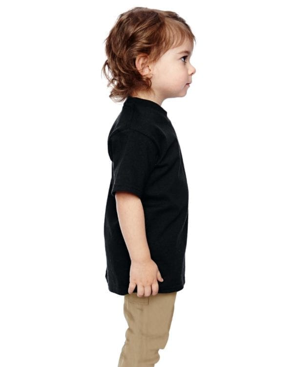 gildan g510p custom toddler heavy cotton shirt bulk custom shirts black side