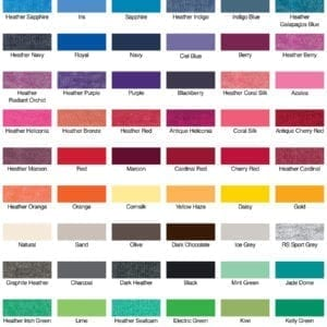 gildan g640 swatches bulk custom shrits