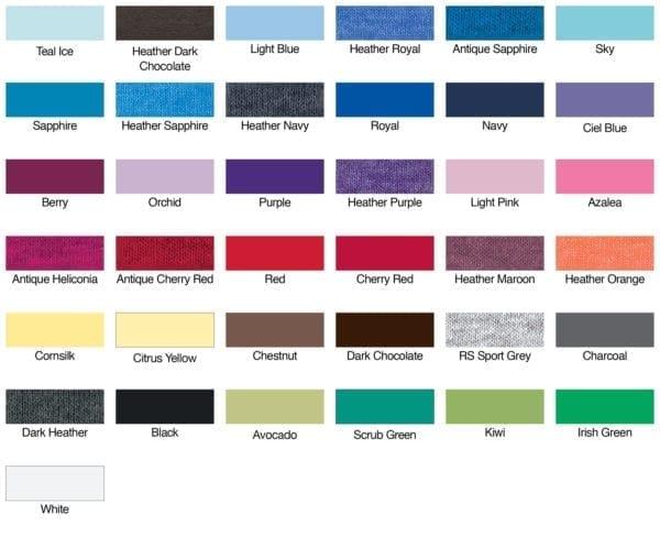 gildan g640l color swatches