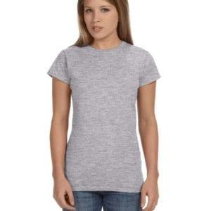 gildan g640l custom ladies softstyle shirt bulk custom shirts rs sport grey