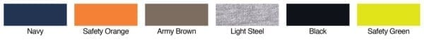 hanes w120 long sleeve pocket shirt colors