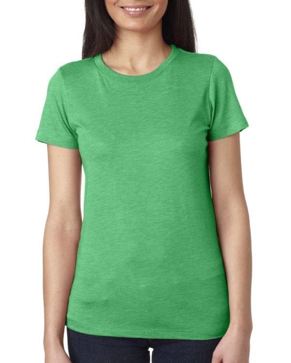 next level 6710 custom ladies triblend crew shirt bulk custom shirts envy