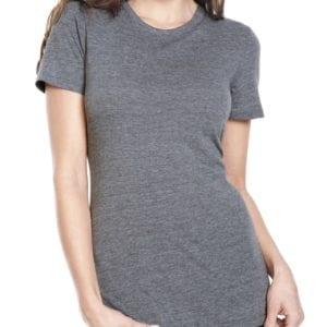 next level 6710 custom ladies triblend crew shirt bulk custom shirts premium heather