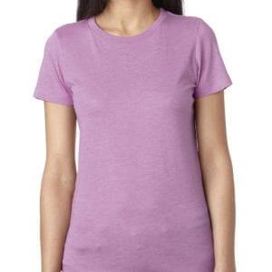 next level 6710 custom ladies triblend crew shirt bulk custom shirts vintage lilac