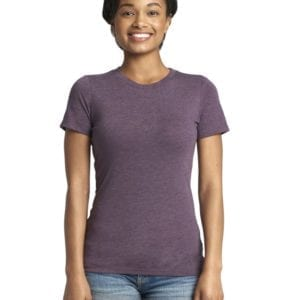 next level 6710 custom ladies triblend crew shirt bulk custom shirts vintage purple