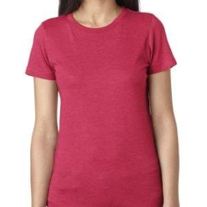 next level 6710 custom ladies triblend crew shirt bulk custom shirts vintage sh pink