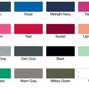 next level n1533 racerback custom tank colors