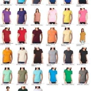 next level n3900 custom boyfriend t-shirt bulk custom shirts colors