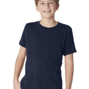 next level n6310 custom youth triblend shirt bulk custom shirts navy